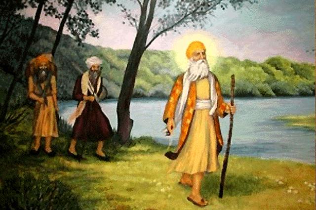 Guru Nanak at Puri