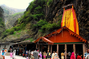 The Yamunotri Temple