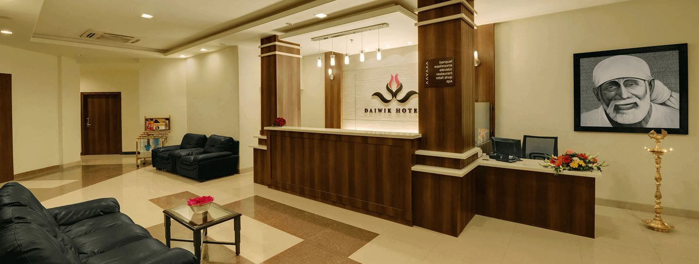 hotel in shirdi-daiwik