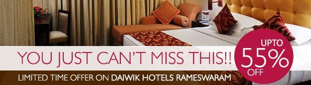 Rameshwaram Hotel – Daiwik Offer